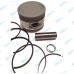 Поршень, кольца, палец комплект | 163 FML-2M / 163 FML-2