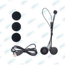 Беспроводная Bluetooth гарнитура для шлема