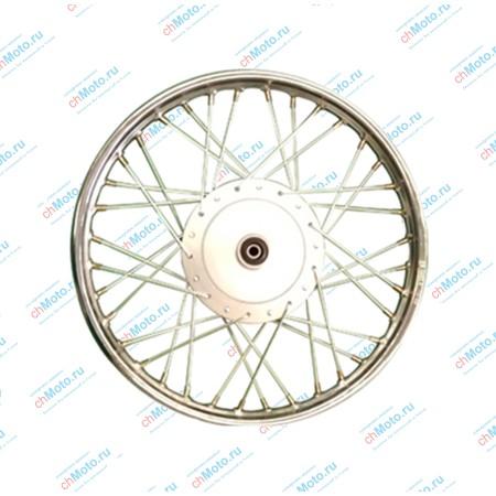 Диск переднего колеса в сборе (барабанный тормоз) | LF150-13