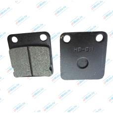Колодки тормозные передние дисковый тормоз | LF150-13