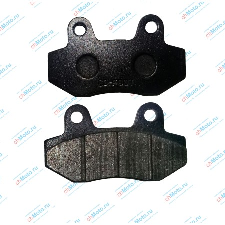 Колодки тормозные задние ЗиД YX250GY-C5C