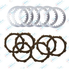 Disc replacement kit clutch