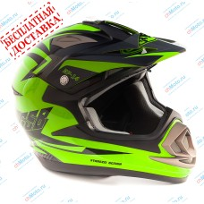 Кроссовый шлем XP-14 GREEN | GSB