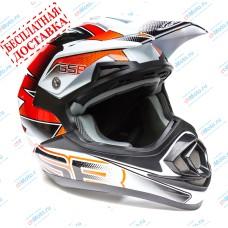Кроссовый шлем XP-14 PRO-RACE ORANGE | GSB
