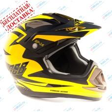 Кроссовый шлем XP-14 YELLOW | GSB
