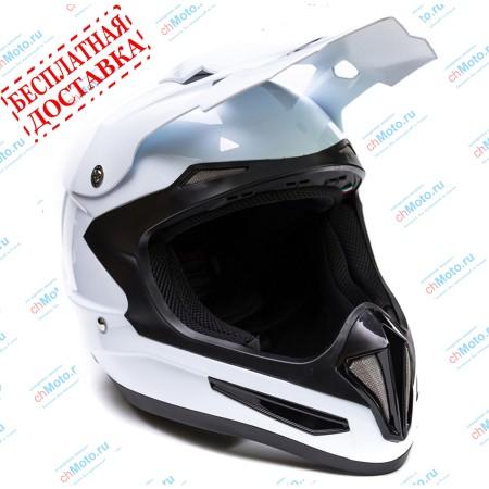 Кроссовый шлем XP-15 WHITE | GSB