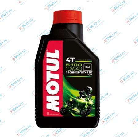 Моторное масло 5100 4T 10W40 (1 литр) | Motul 5100 4Т 10W40