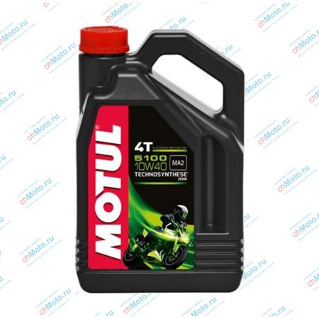 Моторное масло 5100 4T 10W40 (4 литра) | Motul