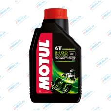 Моторное масло 5100 4T 10W50 (1 литр) | Motul