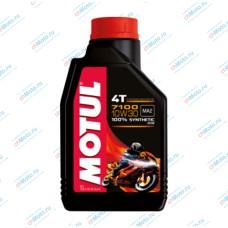 Моторное масло 7100 4T 10W30 (1 литр) | Motul
