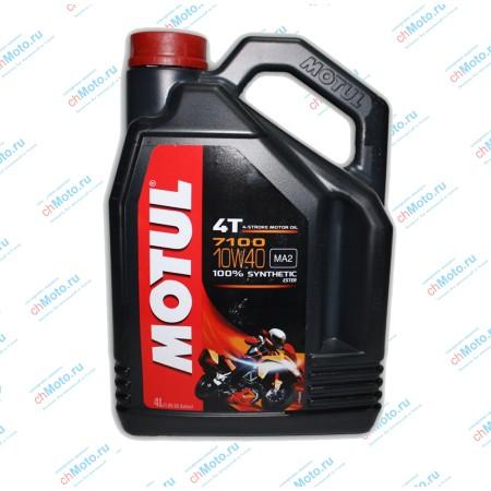 Моторное масло 7100 4T 10W40 (4 литра) | Motul