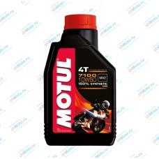 Моторное масло 7100 4T 10W50 (1 литр) | Motul