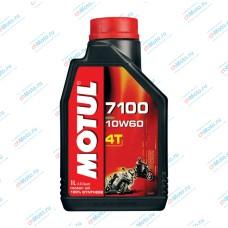 Моторное масло 7100 4T 10W60 (1 литр) | Motul