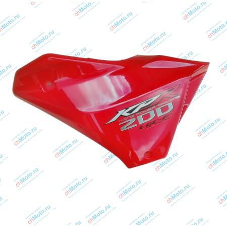 Накладка на бак левая LIFAN LF200-10P (KPR 200)