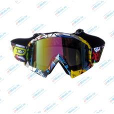 Очки для мотокросса A012
