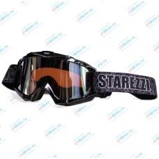 Очки для мотокросса STAREZZI MX 156 BLACK | STAREZZI
