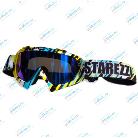 Очки для мотокросса STAREZZI MX 157 HAWAII BLUE | STAREZZI