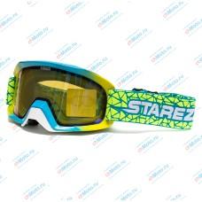 Очки для мотокросса STAREZZI SNOW 186-907 REVO BLUE | STAREZZI
