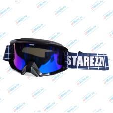 Очки для мотокросса STAREZZI SNOW 186 BLACK MATT | STAREZZI