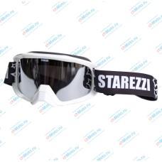 Очки для мотокросса STAREZZI SNOW 186 WHITE | STAREZZI