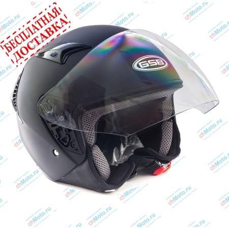 Открытый шлем G-240 BLACK MATT | GSB GSB G-240