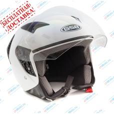 Открытый шлем G-240 WHITE GLOSSY   GSB