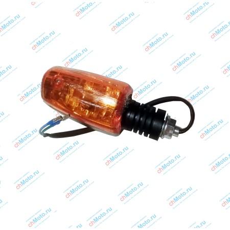 Поворотник передний, левый ЗиД YX150-23