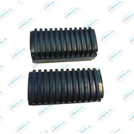 Резиновые накладки для подножки водителя LIFAN LF150-13