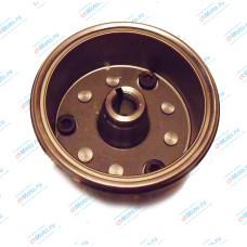 Ротор магнето в сборе с обгонной муфтой | LF163 FML-2M / LF163 FML-2