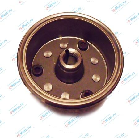 Ротор магнето в сборе с обгонной муфтой LIFAN LF163 FML-2M