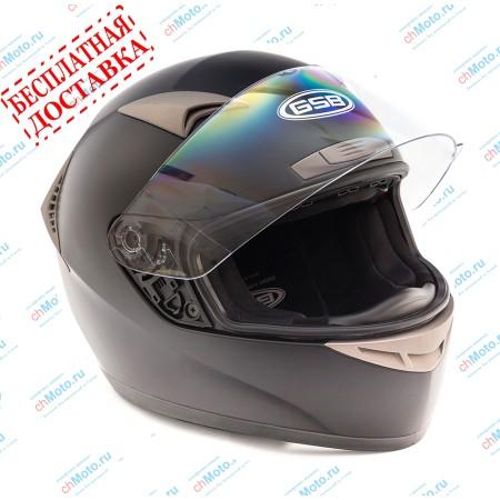 Шлем интеграл G-335 BLACK MATT | GSB