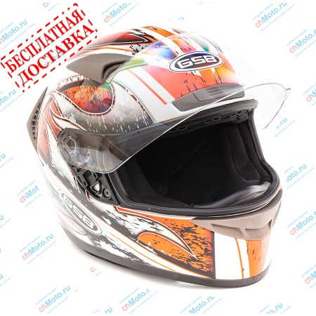 Шлем интеграл G-335 MOBILITA ROSSO | GSB