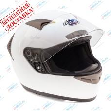 Шлем интеграл G-335 WHITE GLOSSY   GSB