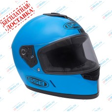 Шлем интеграл G-349 BLACK & BLUE   GSB
