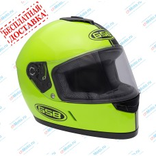 Шлем интеграл G-349 BLACK & GREEN   GSB