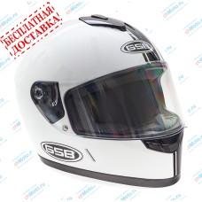 Шлем интеграл G-349 BLACK & WHITE   GSB
