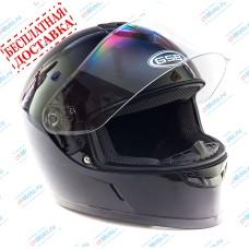 Шлем интеграл G-349 BLACK GLOSSY   GSB