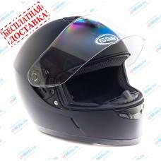 Шлем интеграл G-349 BLACK MATT   GSB