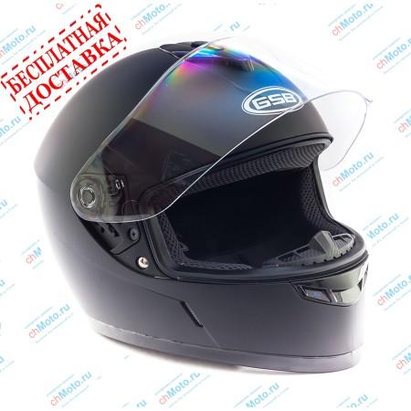 Шлем интеграл G-349 BLACK MATT | GSB