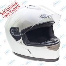 Шлем интеграл G-349 SILVER GLOSSY   GSB
