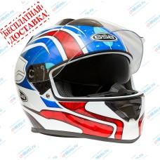 Шлем интеграл G-350 BLUE RED   GSB