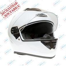 Шлем интеграл G-350 WHITE GLOSSY   GSB
