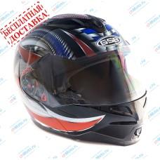 Шлем модуляр G-339 BBR с солнцезащитными очками    GSB