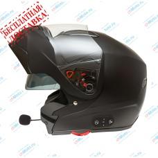 Шлем модуляр G-339 BLACK MATT BLUETOOTH   GSB