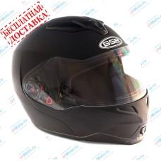 Шлем модуляр G-339 BLACK MATT с солнцезащитными очками    GSB