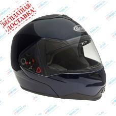 Шлем модуляр G-339 BLUE MET с солнцезащитными очками    GSB