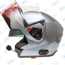 Шлем модуляр G-339 GREY MET BLUETOOTH   GSB