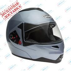 Шлем модуляр G-339 GREY MET с солнцезащитными очками    GSB