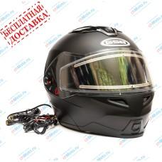 Снегоходный шлем модуляр G-339 SNOW BLACK MATT BLUETOOTH   GSB